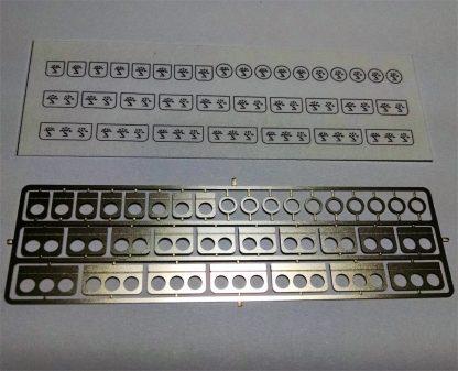 1/25 Scale Model Car Parts Under Dash Gauges | ConnKur Model Accessories and Model Parts